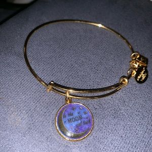 Alex and Ani Stellar Love bangle